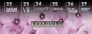 Shari Vari Mercoledì 27 aprile